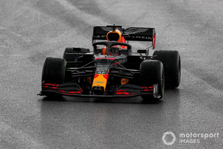 P2 Max Verstappen, Red Bull Racing RB16