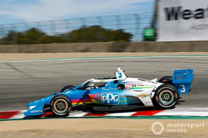 Mix-up with his engineer in qualifying led to another Q1 exit at Laguna Seca, albeit by a slender margin