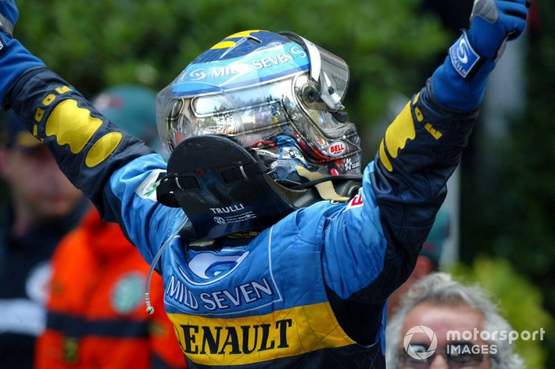 Race winner Jarno Trulli, Renault F1 Team