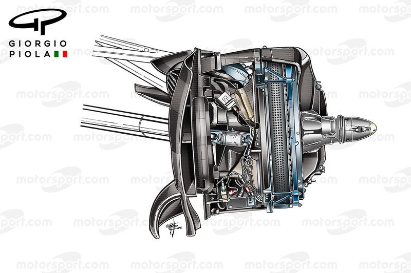 Mercedes W07 disco freno anteriore, GP del Messico