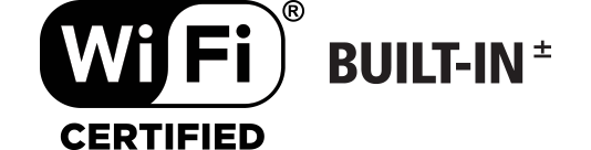 Built-In Wi-Fi Connectivity