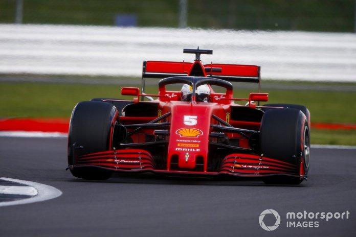 P11 Sebastian Vettel, Ferrari SF1000