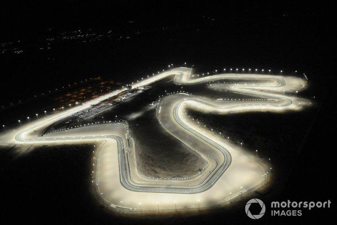 Losail International Circuit aerial view