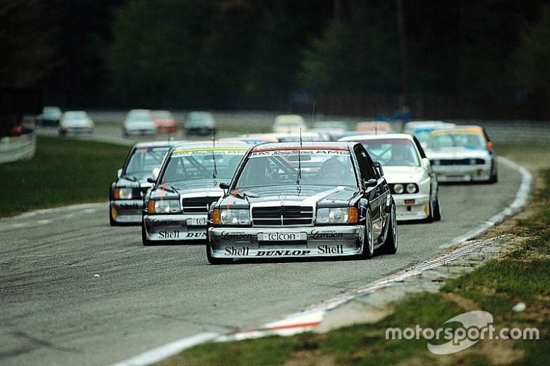 Die Evolution der Mercedes-DTM-Autos seit 1988