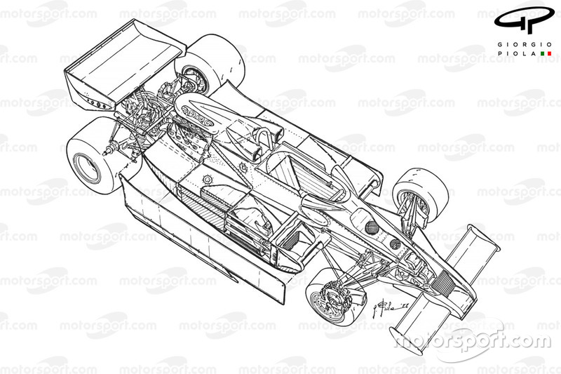Lotus 78 1977 detailed overview at 1977 illustration