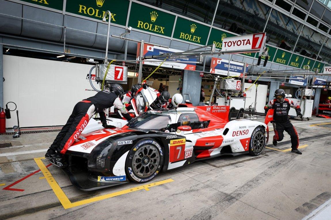 # 7 Toyota Gazoo Racing Toyota GR010 - Hybrid: Mike Conway, Kamui Kobayashi, Jose Maria Lopez