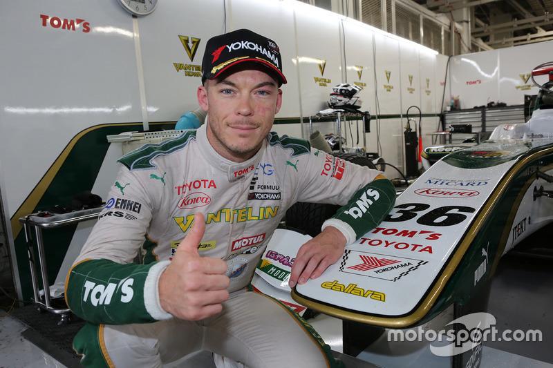 Pole sitter Andre Lotterer, Team Tom's