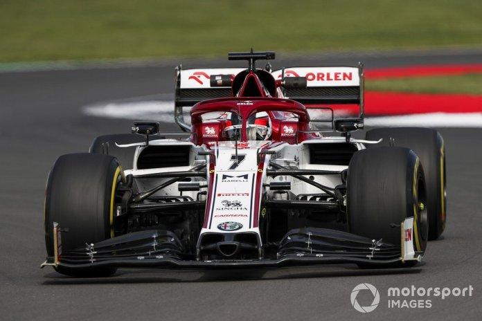P16 Kimi Raikkonen, Alfa Romeo Racing C39