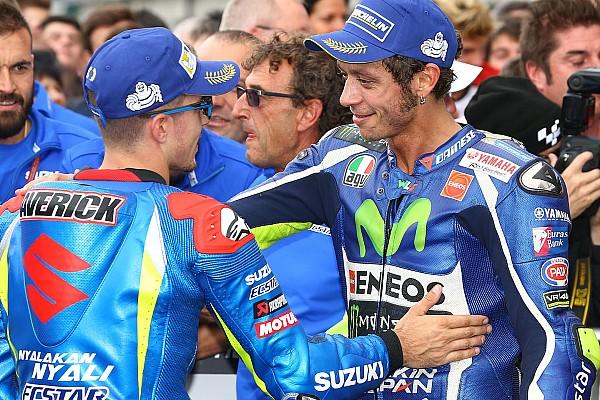 MotoGP Analisi Rossi e Vinales, una sicurezza per Yamaha: sono quelli che cadono meno