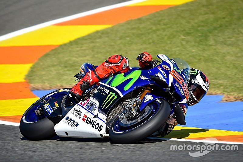 Valencia, Libere 2: Lorenzo guida il poker spagnolo, Rossi solo ottavo