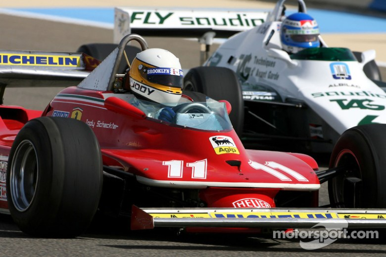 Jody Scheckter, 1979 F1 World Champion drives the 1979 ...