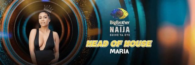 Day 23: Maria wins HoH – BBNaija