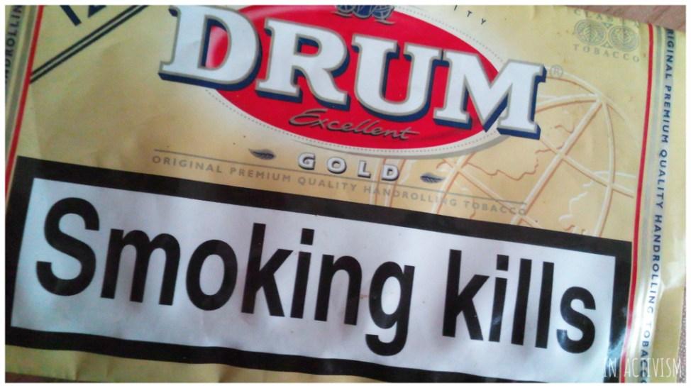 Smoking killsパッケージ