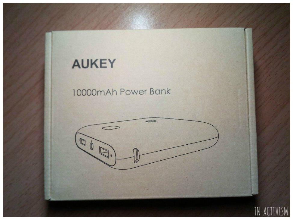 AUKEY モバイルバッテリー化