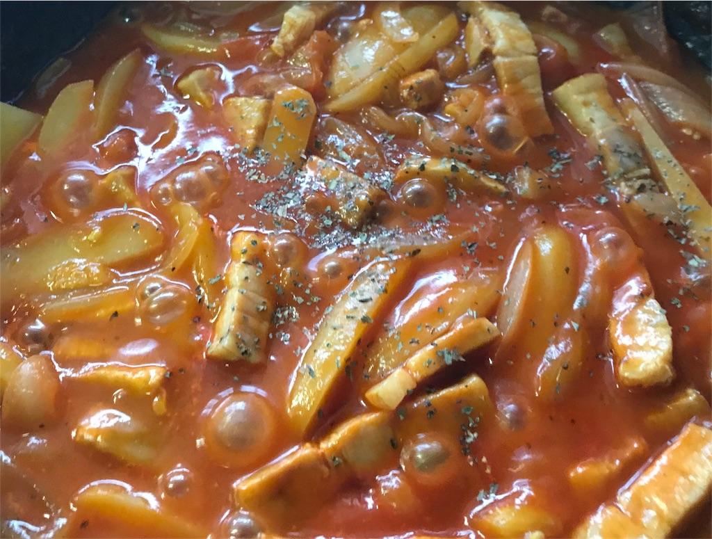 トマトベース煮込み