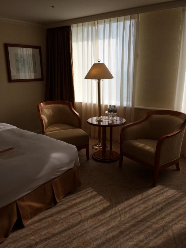 名古屋マリオットホテルのエグゼクティブフロア階の客室