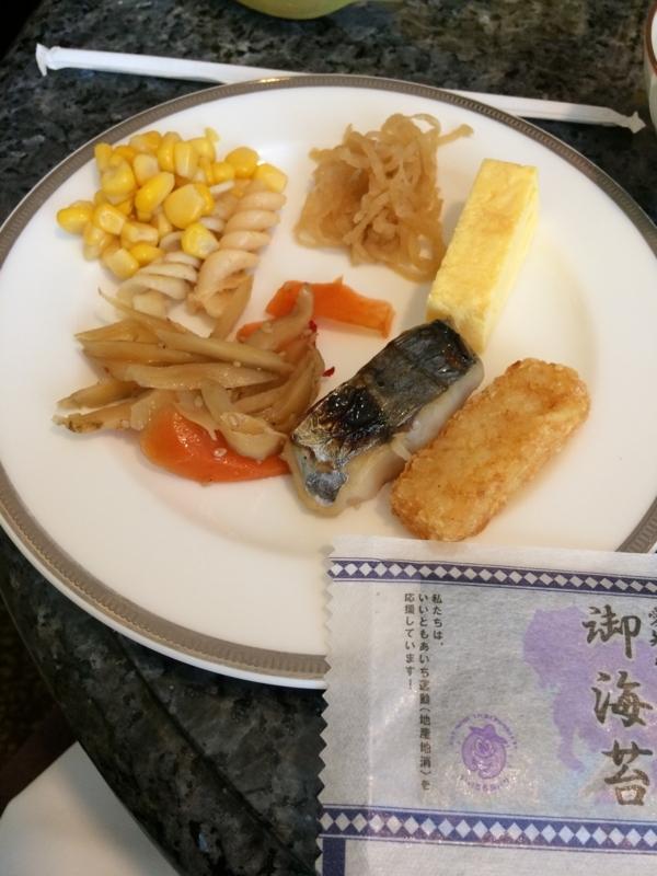 名古屋マリオットホテルの朝食2