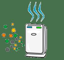 インフルエンザに効果的な加湿器