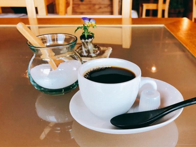 風の彩の食後のコーヒー
