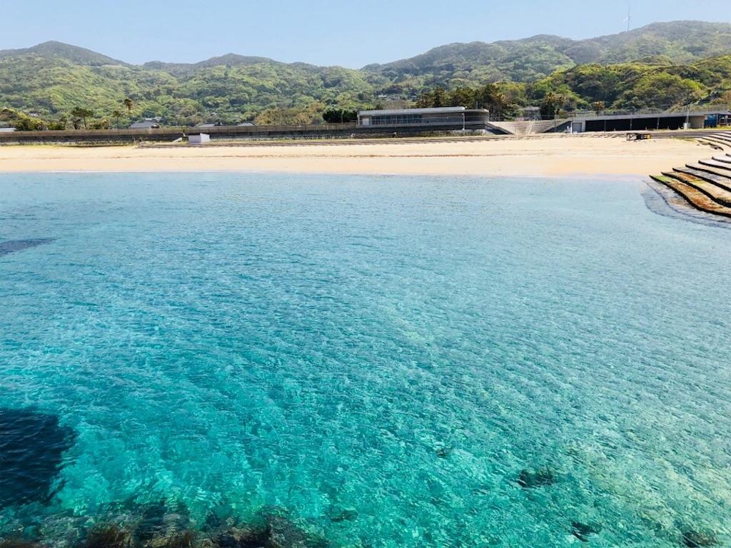 長崎の高浜海水浴場