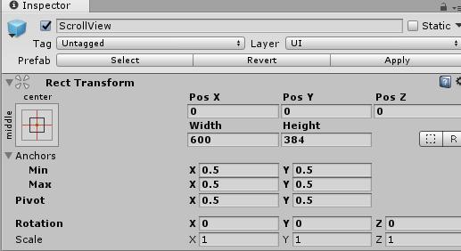 Unity】uGUIスクロールビューの作り方 | CGメソッド