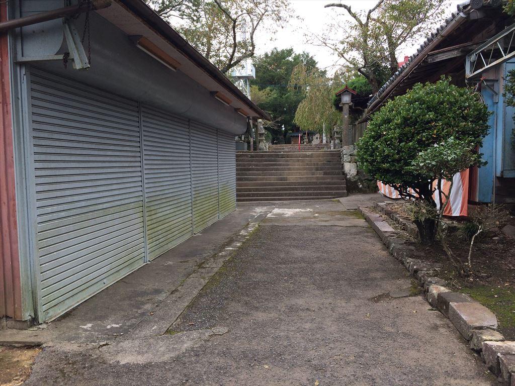徳島県 阿南市 津峯山参詣リフト 津乃峰
