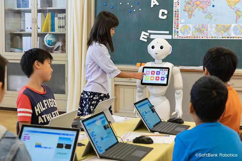 You can fail as many times as you like. Pepper is a teaching material suitable for inquiry-based learning