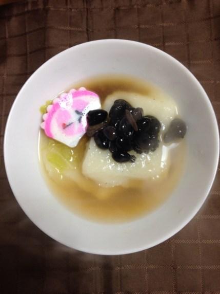 「雑煮 黒豆」の画像検索結果