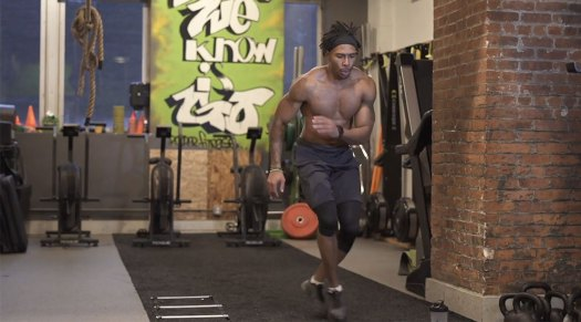 Flex Cabral Isopure Workout
