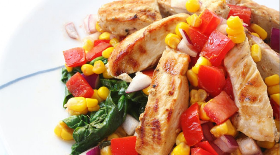 High-Protein Salsa Chicken Recipe | Muscle & Fitness