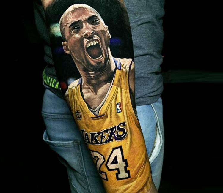 Top Kobe Bryant tattoo Designs
