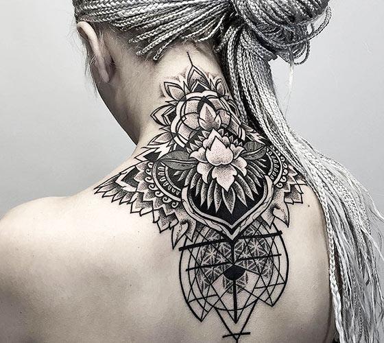 Tattoo Catrina Mexicana Design