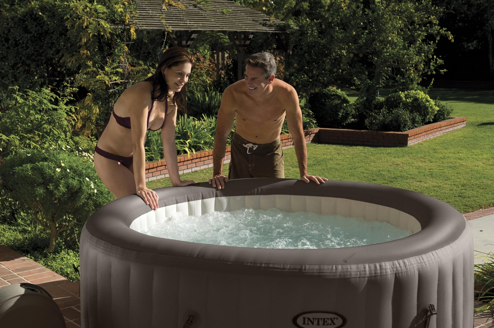 Jumbo Pool Abdeckung Whirlpool Pure Spa Bubble And Jet Rund Pools Shop
