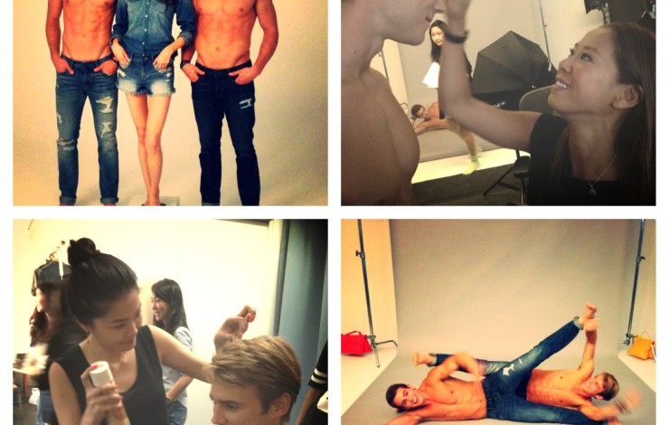 Abercrombie & Fitch 1st year anniversary shoot