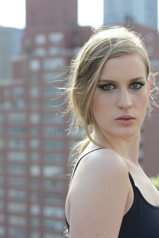 Kalamakeup fashion makeup and hair styling for New York shoot