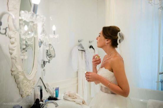 Kalamakeup wedding makeup and hair styling for bride Elke at 1881 Hertiage hotel TST