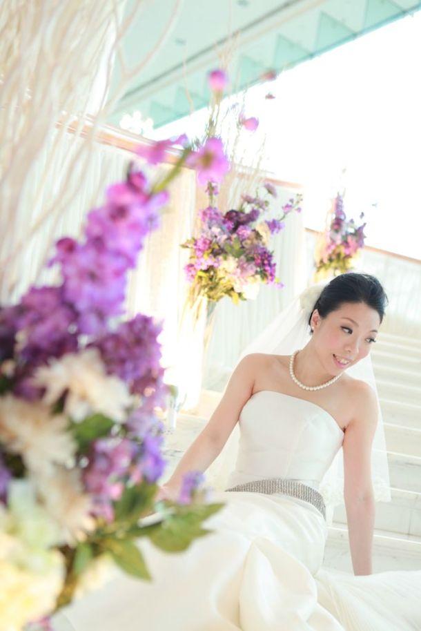 Kalamakeup for bride Elsa's wedding at W hotel, H.K.