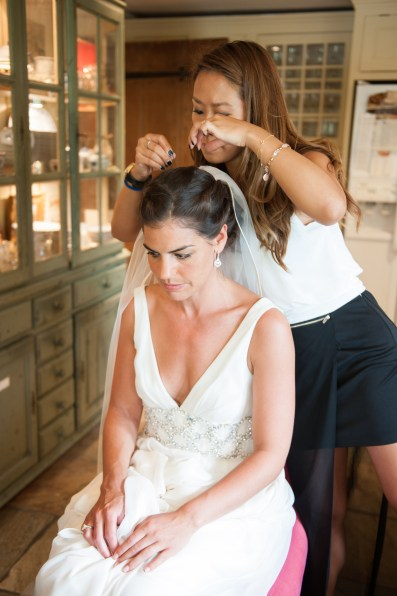 Behind the scene for UK wedding day