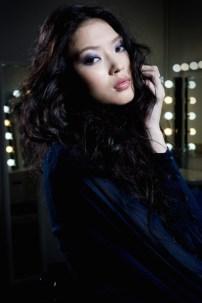 Makeup for fashion catalogue shoot
