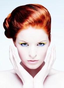 Makeup for beauty shot