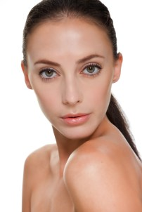 Makeup for skincare ads campaign