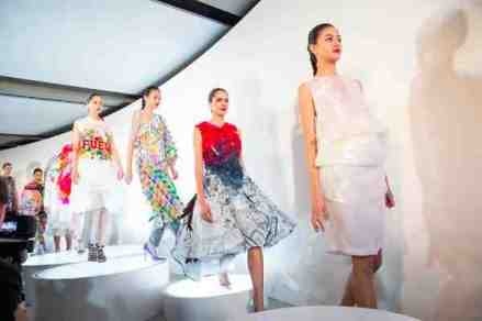 Kalamakeup for SCAD Fashion shows models