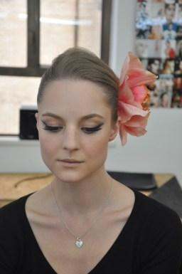 Kalamakeup makeup and hair styling for La Perla fashion shoots