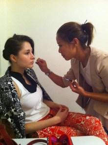 Kalamakeup makeup & hair styling for fashion shows for Fashion Walk