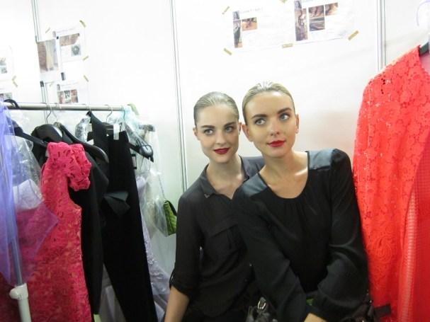 Kalamakeup makeup & hair styling for fashion shows for Harvey Nicholas