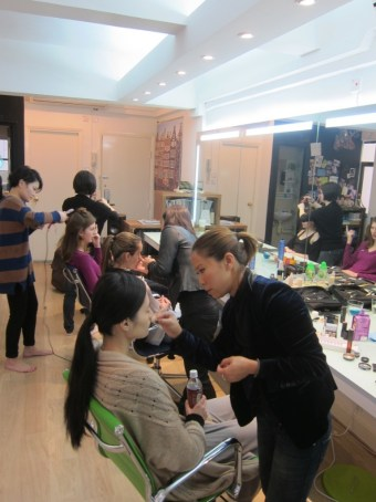 Kalamakeup makeup & hair styling for fashion shows