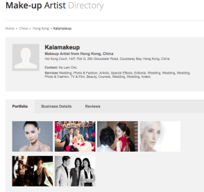 Makeup Directory for Kalamakeup