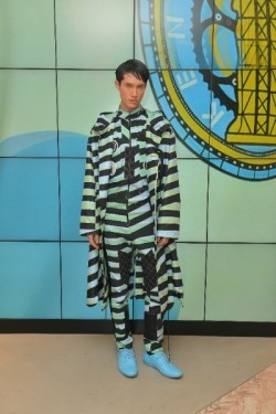 Kenzo show makeup & hair styling Hong Kong