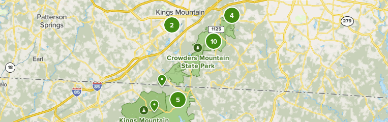 You'll want to choose a hike that's challenging, but not too challenging: Crowders Mountain State Park North Carolina Beliebte Routen Alltrails