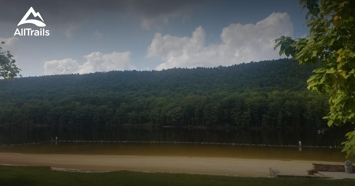 Best Trails in Cowans Gap State Park  Pennsylvania